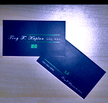 Business card for attorney we chose taste of ink studios to print the card stock for us our relationship with them is really flowering and the card stock options and printing colourmoves
