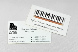 DHP Malik Piano Artists Business Card 02